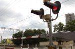 Нарушение правил на переезде Новороссийск